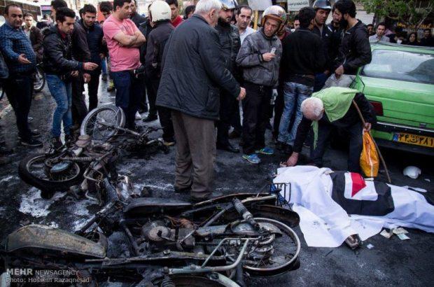 تصادف ها در قم سالانه جان ۳۰۰ تن را می گیرد/ موتورسواران ۲۵ درصد کشته شدگان تصادف های شهری هستند