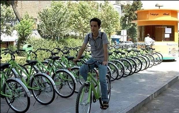 جمع آوری ایستگاههای دوچرخه در قم