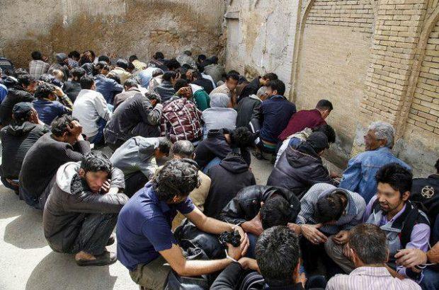 دستگیری ۱۷۹ معتاد متجاهر در قم