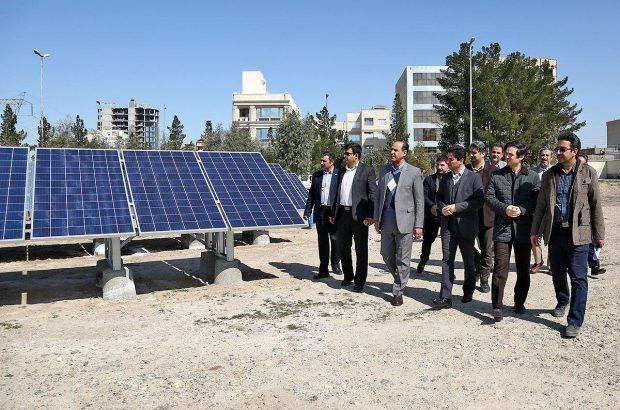 حمایت وزارت نیرو از راهاندازی نیروگاههای خورشیدی