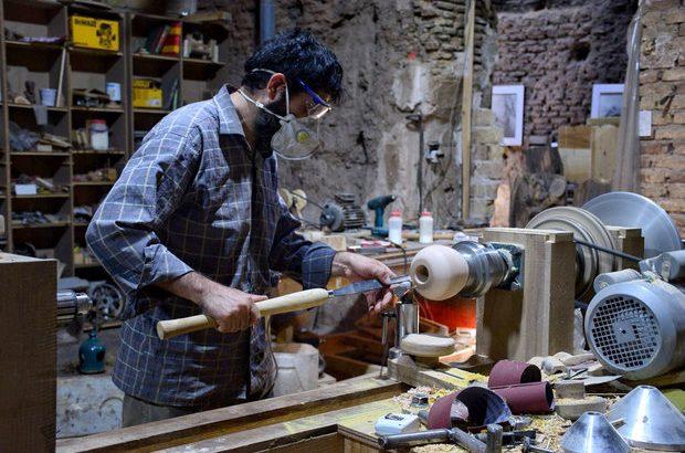 هویت ایرانی در کارگاهی هنری/ نجاری با چاشنی هنر و عشق