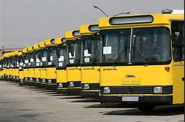 توقف فعالیت اتوبوسهای بخش خصوصی ناوگان اتوبوسرانی قم