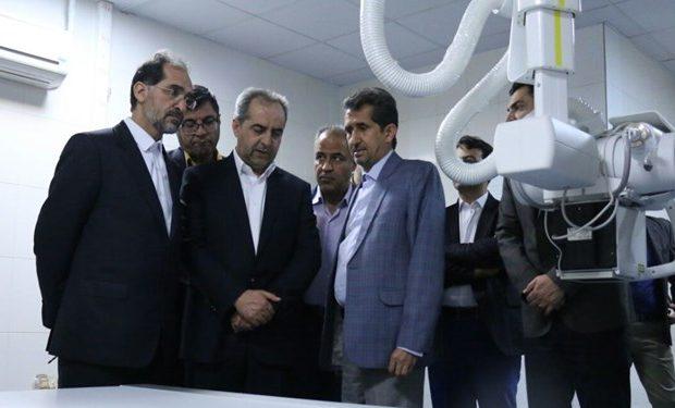 رادیولوژی پیشرفته بیمارستان شهید بهشتی قم راهاندازی شد
