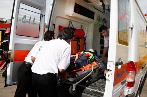 ۱۴ مجروح در تصادف زنجیرهای اتوبان قم-تهران