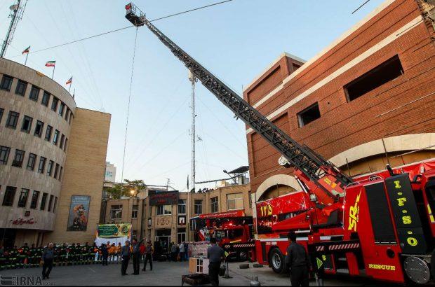 خریداری نردبان ۴۰ متری نجات برای آتش نشانی قم