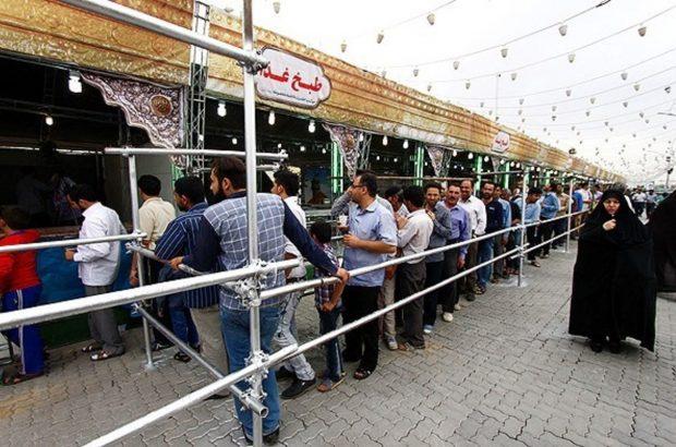خدمات رسانی ایستگاههای صلواتی در جمکران به ۵۰۰ هزار زائر