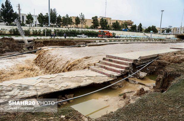 خسارت ۱۲ میلیاردی بلوار زائر نتیجه بیتدبیری است/ تجاوز به حریم رودخانه درست نیست