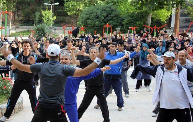 برگزاری ۷ برنامه ورزش همگانی تا پایان هفته در استان قم