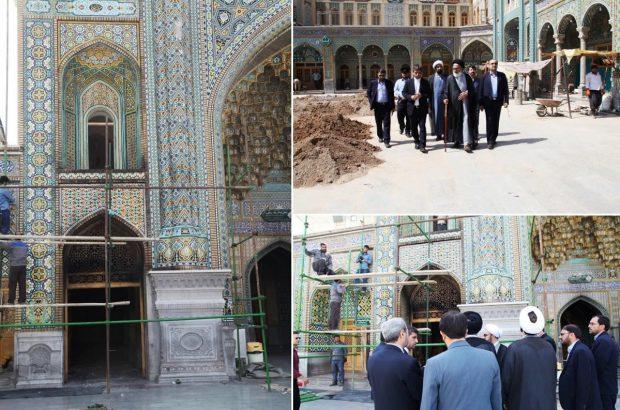 آتش سوزی در حرم حضرت معصومه آسیبی به معماری سنتی آن وارد نکرد