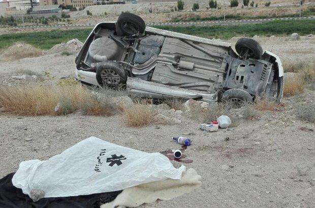 بی احتیاطی راننده خودروی سواری سمند منجر به فوت وی شد