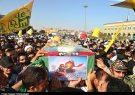 پیکر شهید مدافع حرم «حجتالاسلام مؤمنی» در قم تشییع شد