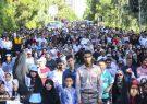 پیادهروی بزرگ خانوادگی مردم قم در حمایت از «آب» برگزار شد