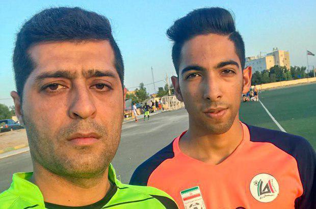 پدیده جوان فوتبال قم به تیم لیگ برتری جوانان احسان ری پیوست
