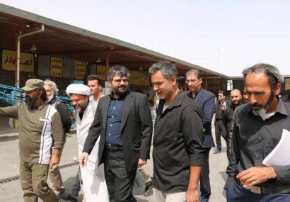 حضور مدیرکل فرهنگ و ارشاد اسلامی قم در پشت صحنه فیلم «یاسین»+تصاویر