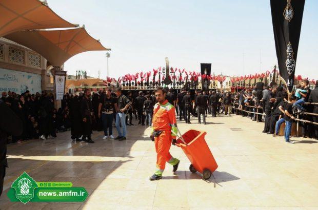 بسیج دستگاههای خدماترسان برای خدمت به عزاداران حسینی + تصاویر