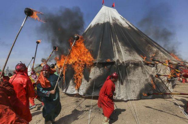 آمادهباش کامل و استقرار اکیپهای آتشنشانی در تاسوعا و عاشورا/ لزوم توجه به نکات ایمنی در مراسم خیمهسوزان