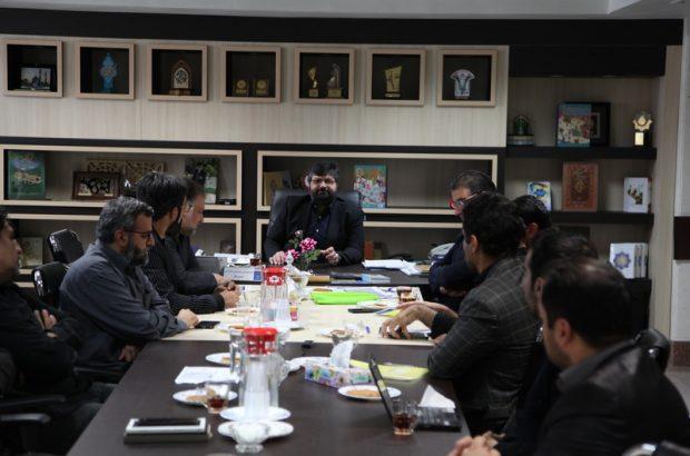 اعضای شورای سیاستگذاری سینمایی قم با مدیرکل فرهنگ و ارشاد اسلامی قم دیدار کردند