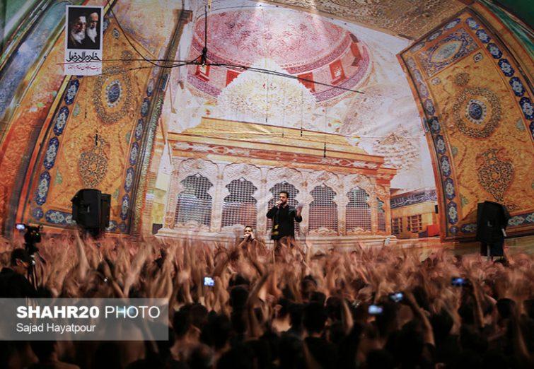 تصاویر عزاداری هیئتهای مذهبی قم در محرم