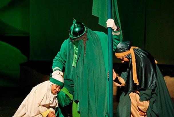 «غریبه شام» با نقشآفرینی هنرمندان قمی در تهران به روی صحنه رفت