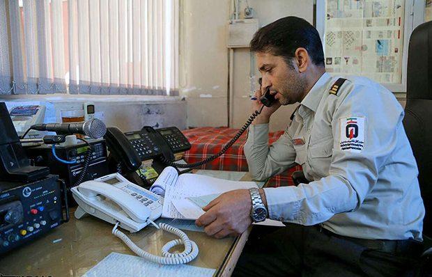 آوار مزاحمان تلفنی بر سر آتشنشانی/ ۸۰درصد تماسها با آتشنشانی قم غیرضروری است