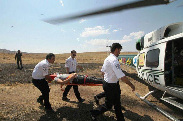 تصادف ۳ دستگاه خودرو در سلفچگان/ انتقال ۴ مصدوم به بیمارستان با بالگرد