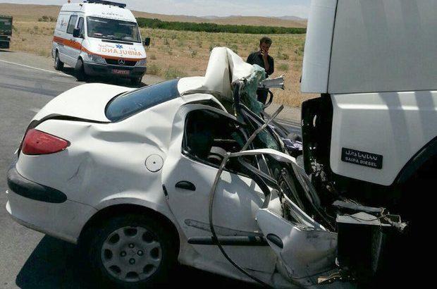 دو تصادف جادهای در قم ۸ مصدوم بر جای گذاشت