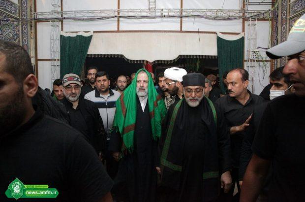 حضور رئیس قوه قضائیه در جمع خادمان موکب حرم حضرت معصومه(س) + تصاویر