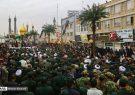 مراسم عزاداری نیروهای مسلح در قم برگزار شد