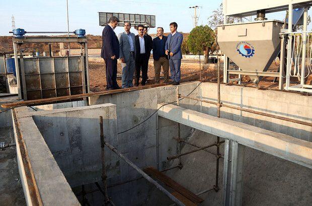 پیشرفت ۹۰ درصدی نوسازی تصفیهخانه فاضلاب شماره ۲ قم/ ۸میلیون مترمکعب آب شرب پای فضای سبز