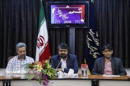 تصاویر/ نشست خبری بیستویکمین جشنواره تئاتر استانی قم