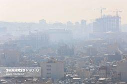 تصاویر/ آلودگی هوای قم