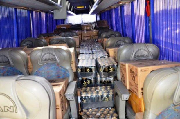 مسافران متفاوت اتوبوس توقیفی در قم