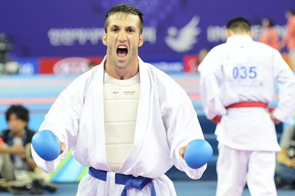 ستاره کاراته قم در مادرید درخشید