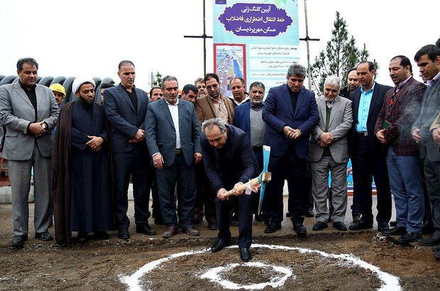 احداث خط انتقال اضطراری فاضلاب مسکن مهر پردیسان آغاز شد