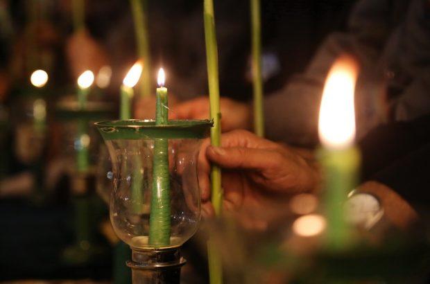 برگزاری مراسم شمعگردانی خادمان آستان بانوی کرامت و حرم امام رضا(ع)