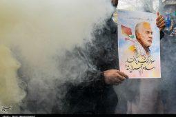 تصاویر/ قم در سوگ شهادت سردار قلبها