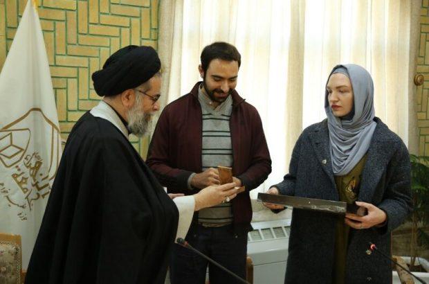 تشرف بانوی روسی به دین اسلام