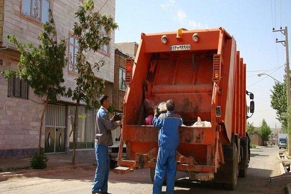 جمعآوری روزانه ۴۳ تن زباله در منطقه پنج