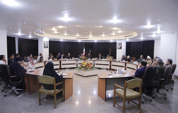 نشست هماندیشی شورای فرهنگی صنعت فیلم و تصویر قم برگزار شد