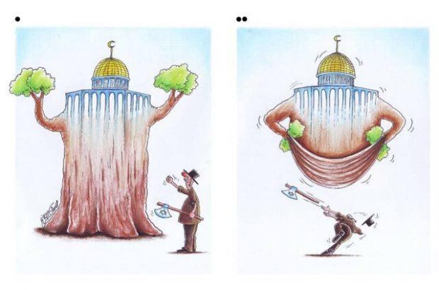 موفقیت کاریکاتوریست قمی در جشنواره بینالمللی