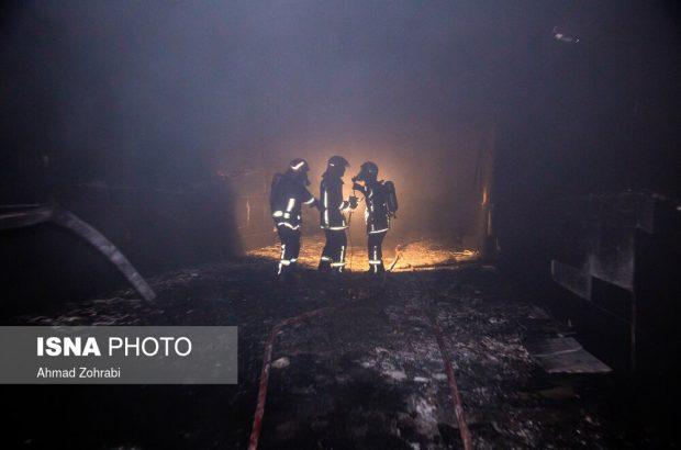 جزئیات وقوع آتشسوزی گسترده در مجتمع سحر قم/ ۵ نفر جان باختند