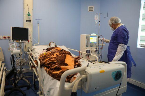آغاز پذیرش بیماران کرونایی در بیمارستان فرقانی