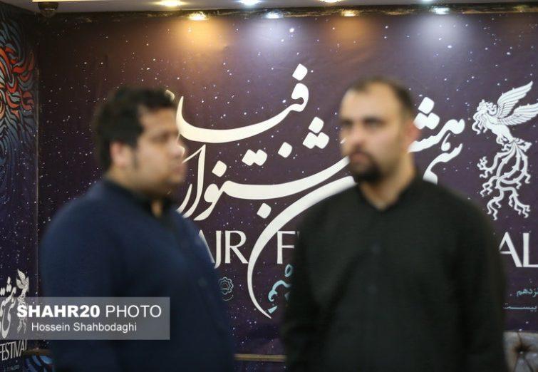 در حاشیه جشنواره فیلم فجر در قم