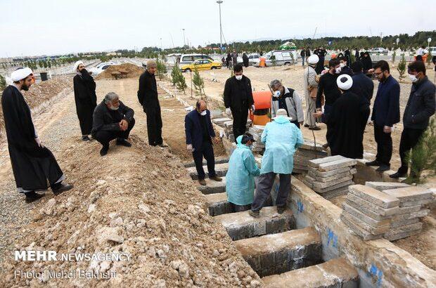 کفن و دفن متوفیان کرونا در قم رایگان است