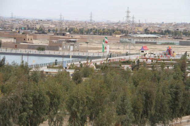 توسعه ۱۰ هکتاری بوستان جوان