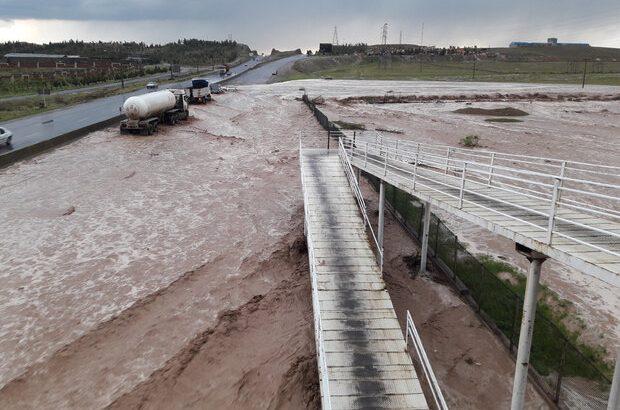 وقوع سیلاب ۲۵ فروردین قم بیسابقه بود