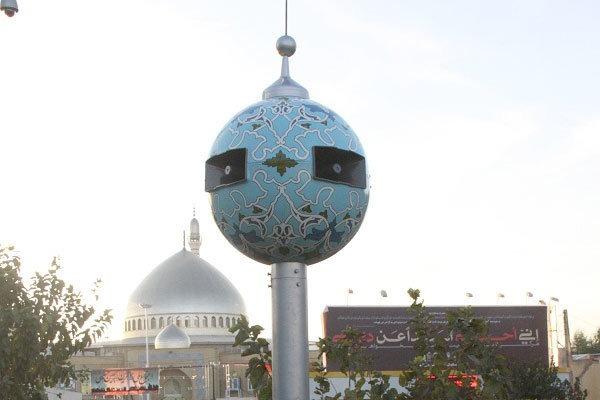 پخش نغمههای رمضانی از برجهای اذان شهر