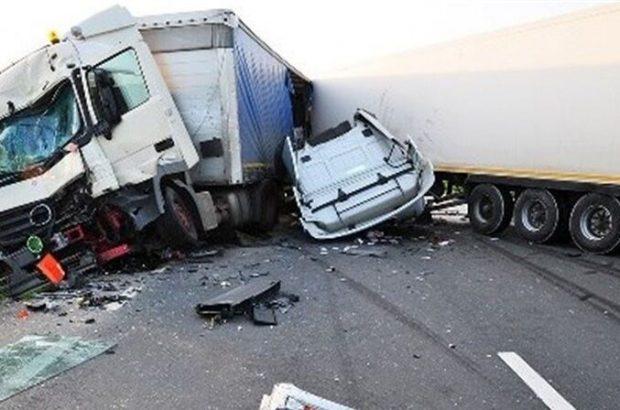 ۵ کشته و زخمی در تصادف خونین جاده قدیم قم -تهران