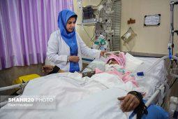 تصاویر/ احیای شب قدر در بیمارستان امام رضا(ع) قم