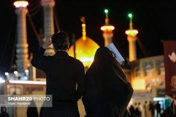 تصاویر/ احیای شب نوزدهم ماه رمضان در جوار حرم حضرت معصومه(س) قم